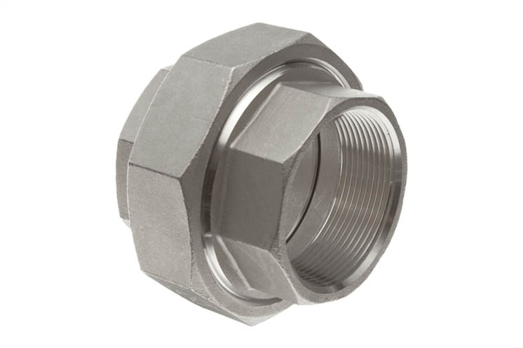 Threaded union unifit metalloys inc